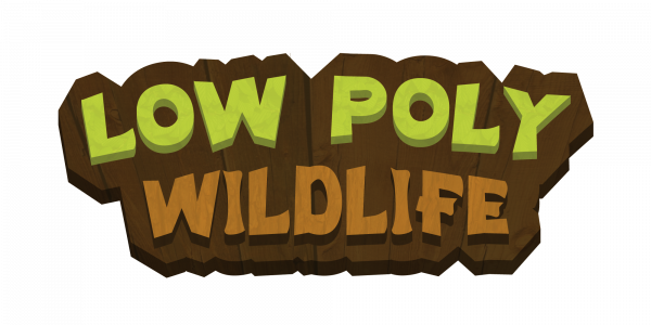 Low Poly Wildlife Logo