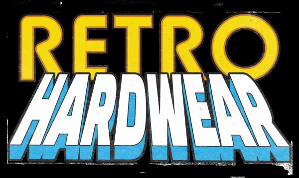 Retro Hardwear Hardware Vintage Computing T Shirt Logo