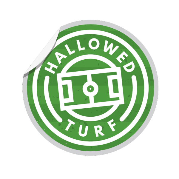 Hallowed Turf Football lStadium T Shirt Illustration Logo