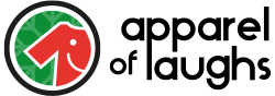 Apparel of Laughs Logo Circle Chirstmas